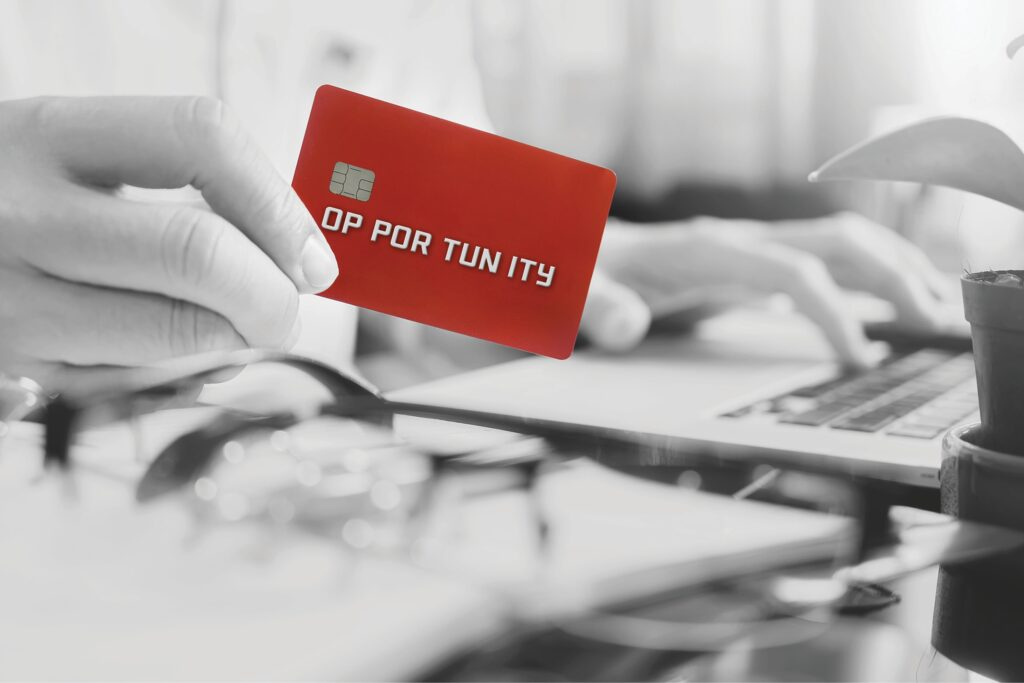 credit card with new opportunity