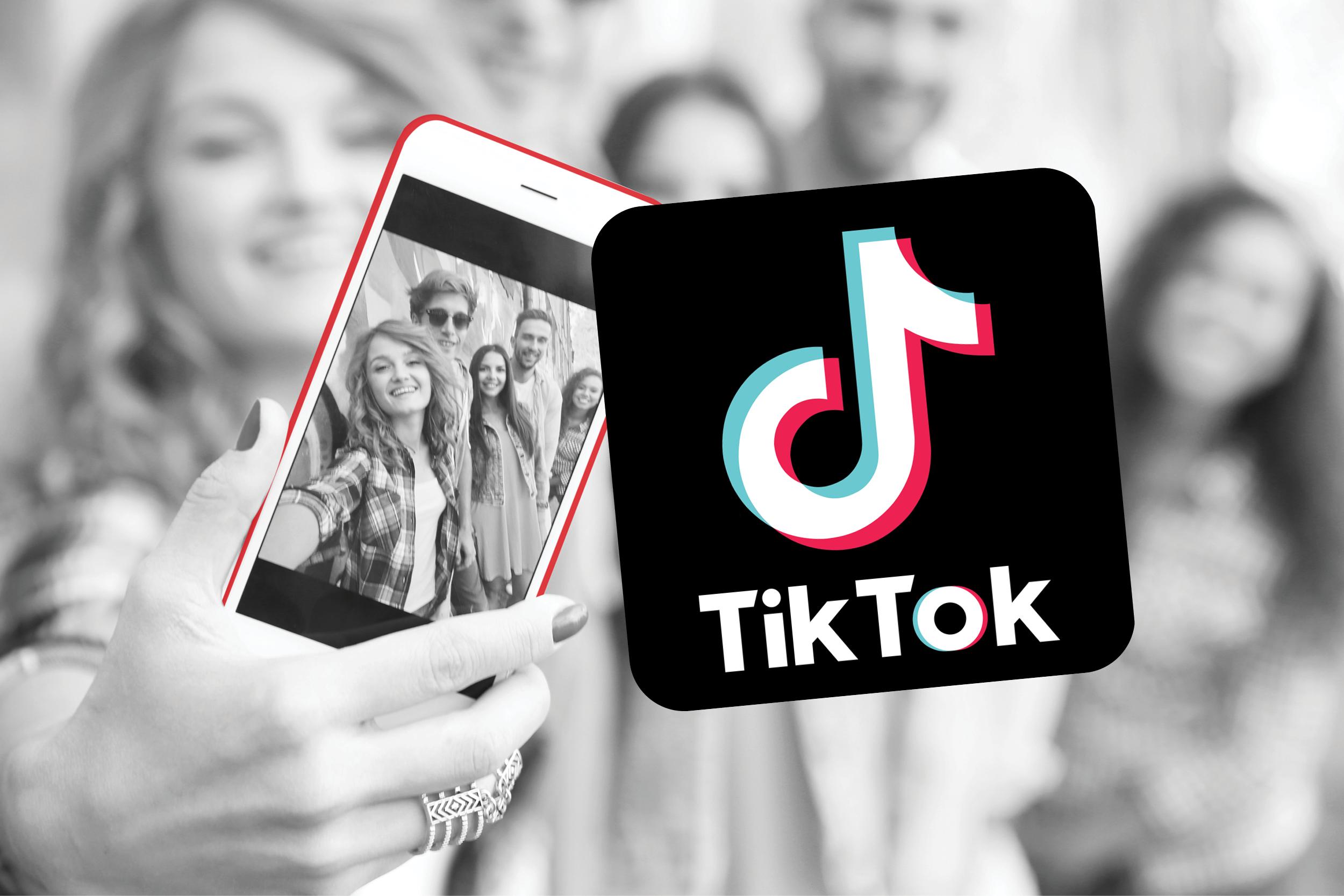 tiktok social media marketing on mobile