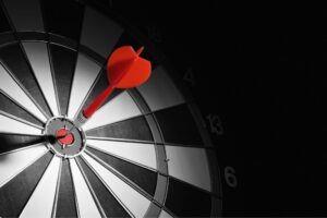 display ad target bullseye