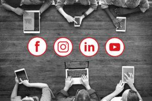 kickstart your social media - social icons